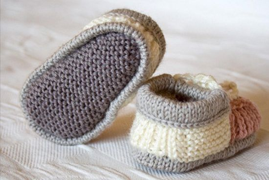 The Cutest Collection of Knitted Baby Booties | The WHOot