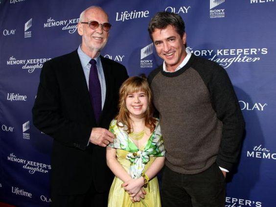 Director Mick Jackson Krystal Nausbaum And Dermot Mulroney At The Premiere Of The Memory