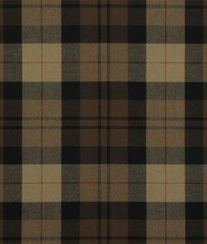 Ralph Lauren Kensall Plaid Chestnut/Onyx Fabric - $64 | onlinefabricstore.net