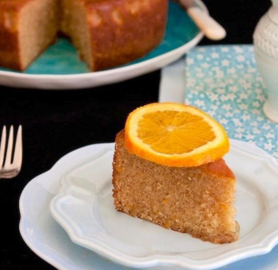 Orange Scented Olive Oil Cake | Interesting yummy cakes, cookies, ice ...