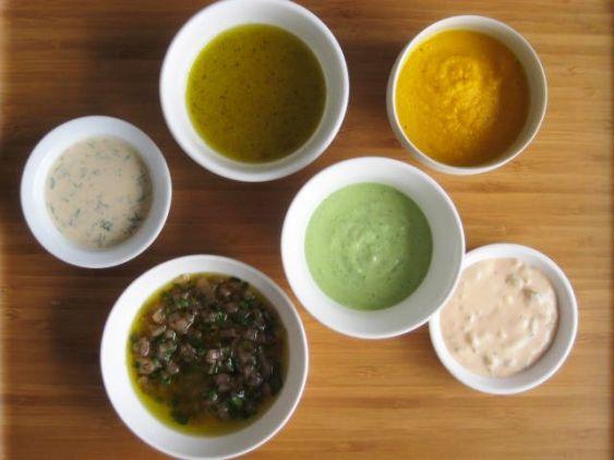 6 Easy Homemade Salad Dressings
