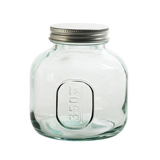 Storage Bocal en verre recyclé avec bouchon 350G, Alinéa 5,99€