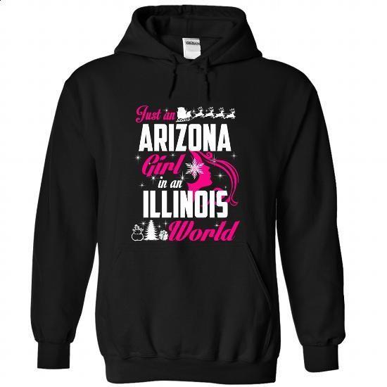 ARIZONA-ILLINOIS Xmas 01Pink - #striped shirt #tee cup. ORDER NOW => https://www.sunfrog.com/States/ARIZONA-2DILLINOIS-Xmas-01Pink-Black-Hoodie.html?68278