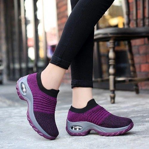 حذاء رياضي نسوي مريح Walking Shoes Women Women Shoes Fashion Shoes
