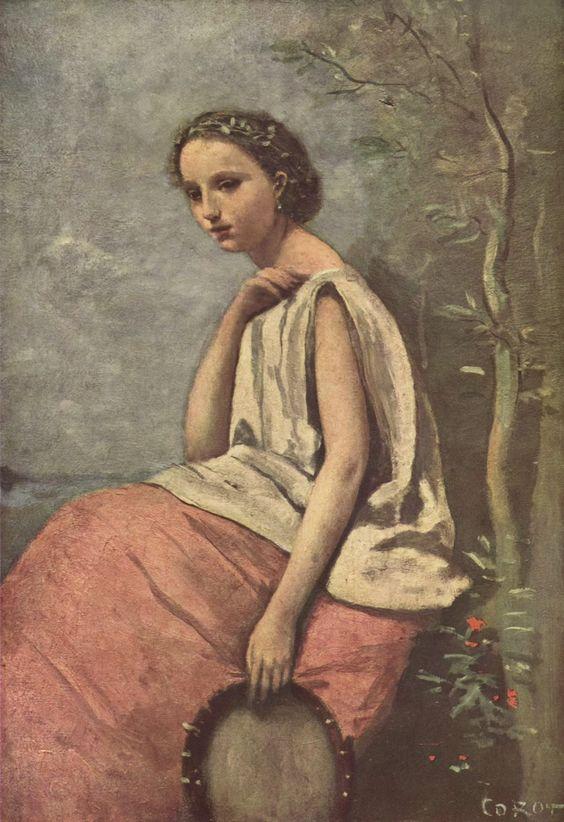 TICMUSart: La Zingara - Camille Corot (1870) (I. M.)