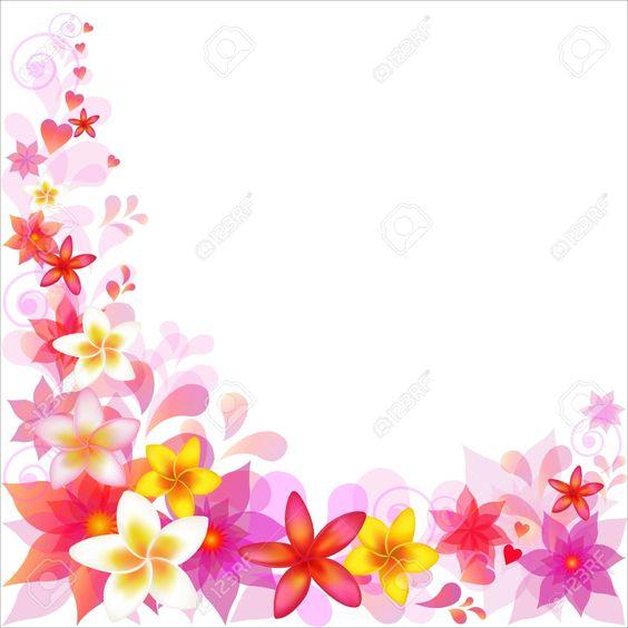 clip art images floral backgrounds - Google Search