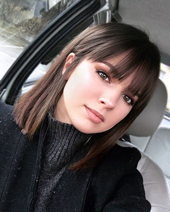 55 Best Long Bob Haircuts And Hairstyles For 2019 Medium Hair Styles Short Straight Hair Short Hair Styles