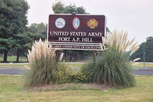 Fort A.P. Hill  Bowling Green, VA