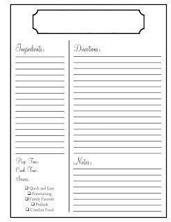 Free Editable Recipe Card Templates For Microsoft Word Free Download Recipe Cards Template Recipe Book Diy Recipe Template For Word