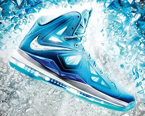blue lebron shoes