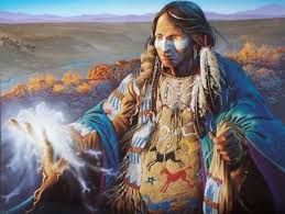 Resultado de imagen de pintura o fotografia indios americanos antiguos