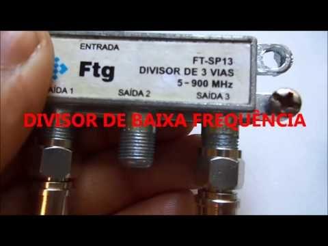 DIVISOR DE ALTA FREQUÊNCIA PARA LEIGOS - YouTube