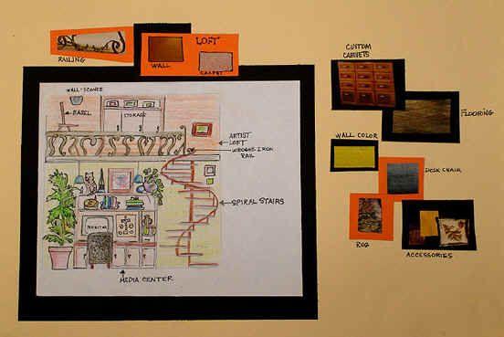 art lesson plan interior design dream room fcs