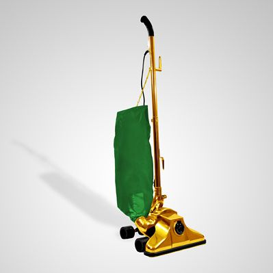 Struggling with dirty carpets and far, far too much cash? Have we got the gold-plated vacuum cleaner for you!