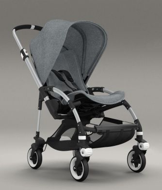 Chapter Twenty Eight - Teddy's stroller. Bugaboo Bee in grey.