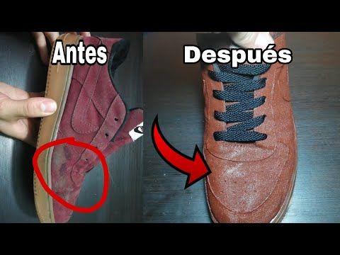Transforma Tus Zapatos Viejos Con Este Truco Arte De Ensenarte Youtube Zapatos Manualidades Zapatos Zapatos Nike