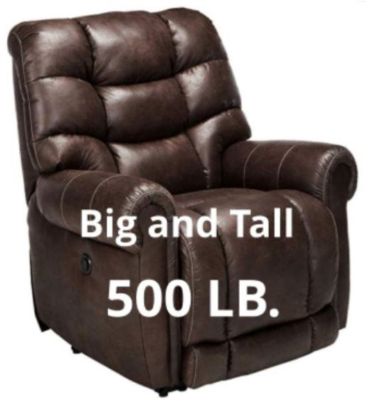 Big Cozy Heavy Duty 500 Lb Recliner Chair For The Big And Tall