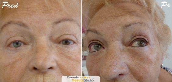"""Permanent Make-up Lidstrich, Veronika Kocianová - eine Spezialistin für Permanent Make-up. http://permanentmakeup2014.de/ und http://www.beautystudioveronika.de/. Unterstützen Sie das Projekt von Veronika Kocianová """" Verschönerung von Frauen mit einer Krebserkrankung : GRATIS !"""