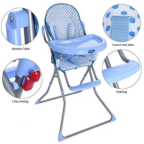 Befied Chaise Haute Bebe Mignon Pliante Tissu Impermeable En Pvc Grand Confort Securite Pieds Antiderapants Se Chaise Haute Chaise Haute Bebe Tissu Impermeable