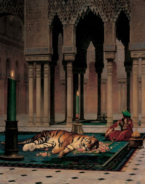 Jean-Léon Gérôme (French, 1824–1904), The Grief of the Pasha , 1882   Joslyn Art Museum