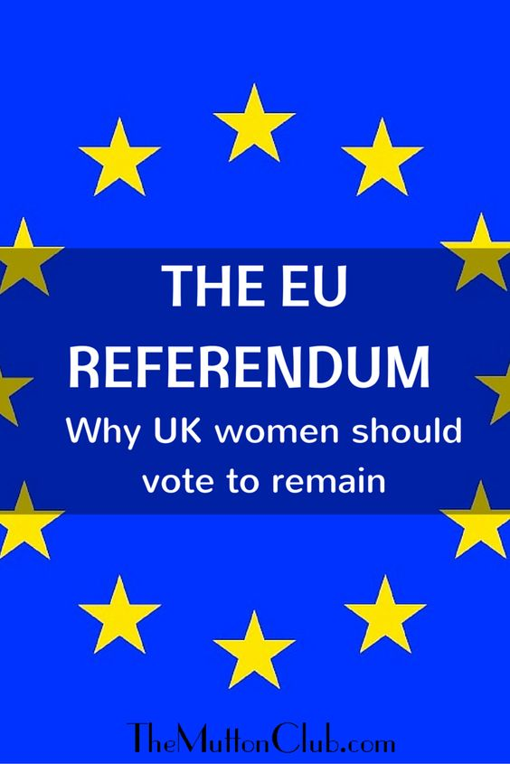 Pam Kenworthy makes the case for why British women are better off being part of the European Union and should vote to stay in the June 23rd EU Referendum.