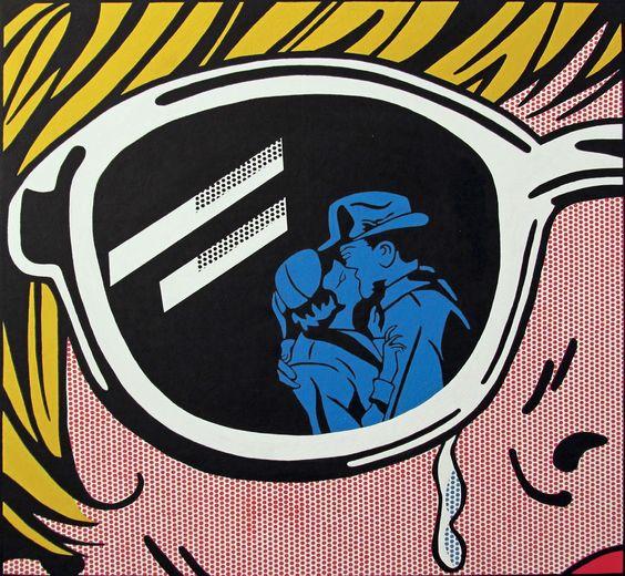 How would you describe lichtenstein's work ?