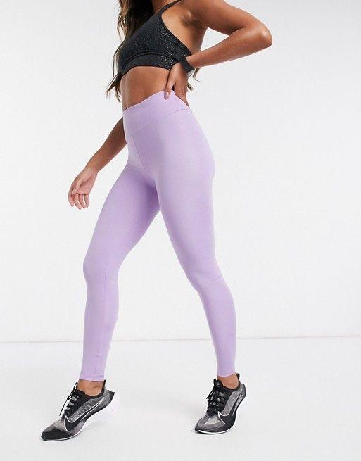 Asos 4505 High Waisted Legging In Glitter Asos High Waisted Leggings Active Wear Leggings Legging