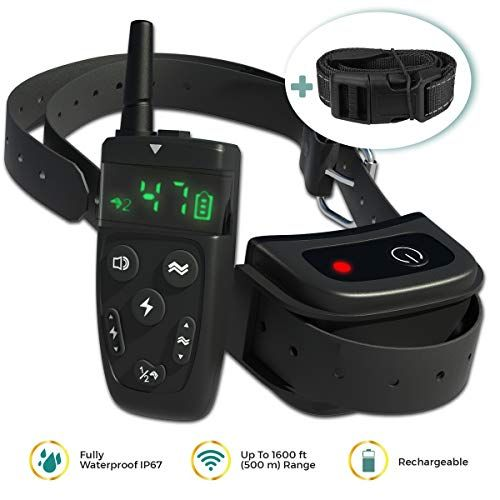 New 2019 Dog Shock Training Collar With Remote Long Range Up To