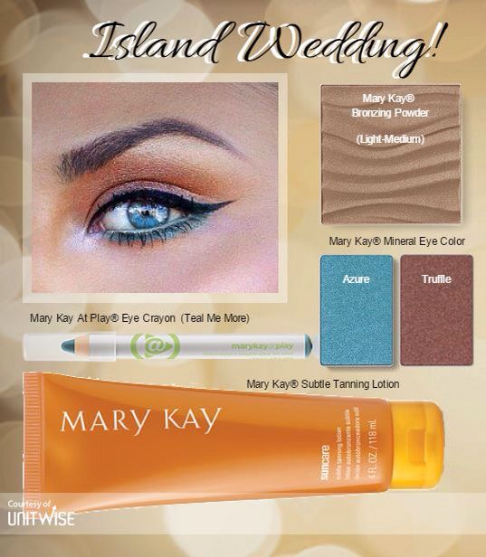 Island Wedding! It would be my honor to assist you on your day :D Please contact me me for more information. **Cannot currently have a consultant**  #MaryKay #Wedding #Makeup #Beauty www.facebook.com/brookeashleyramsey www.pinterest.com/brookeramsey302