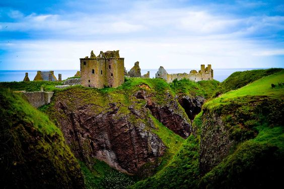 Dunnottar Castle, NE coast of Scotland