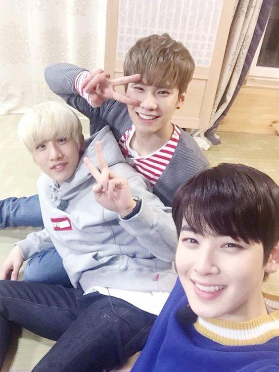 JinJin + Rocky e Eunwoo