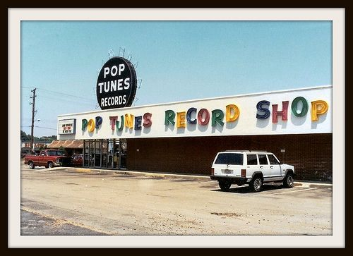 Pops Tunes Records, Memphis, Tennessee