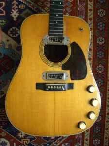 Love this guitar, Martin D18e same guitar that Kurt Cobain ...