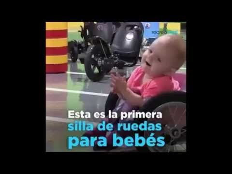 La primera silla de ruedas para bebes - YouTube
