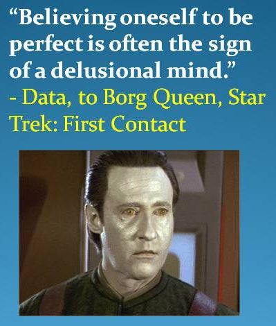 Star Trek:  First Contact had some great quotes.  Best movie from the Star Trek:  The Next Generation Cast.