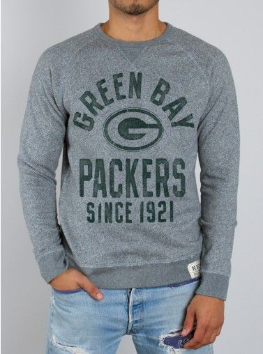 Junk Food Clothing - NFL Green Bay Packers Sweatshirt - Green Bay Packers - NFL - Collections - Mens