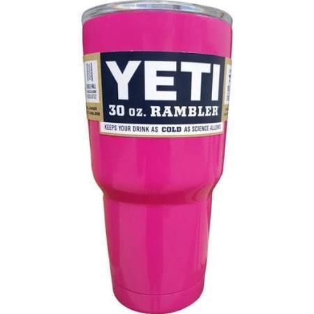 PINK YETI Rambler 30 oz. Tumbler with Lid, $65.00