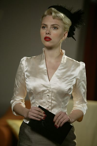 "Pin up    Scarlette Johansson in ""The Black Dahlia"""
