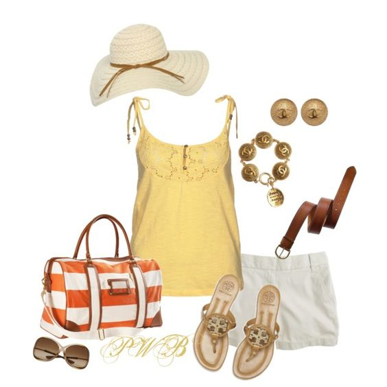 Summer, created by pamela-barrett-williamson on Polyvore