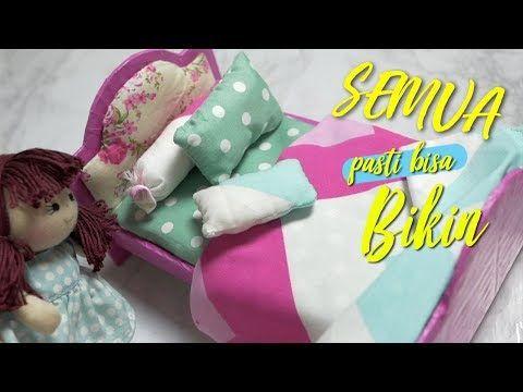 Cara Membuat Tempat Tidur Barbie Dari Kardus