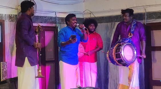சோனி மியூசிக் நிறுவனம் மூலமாக திருமண விழாக்களில் சர்ப்ரைஸ் கச்சேரி நடத்தும் அந்தோனிதாசன்