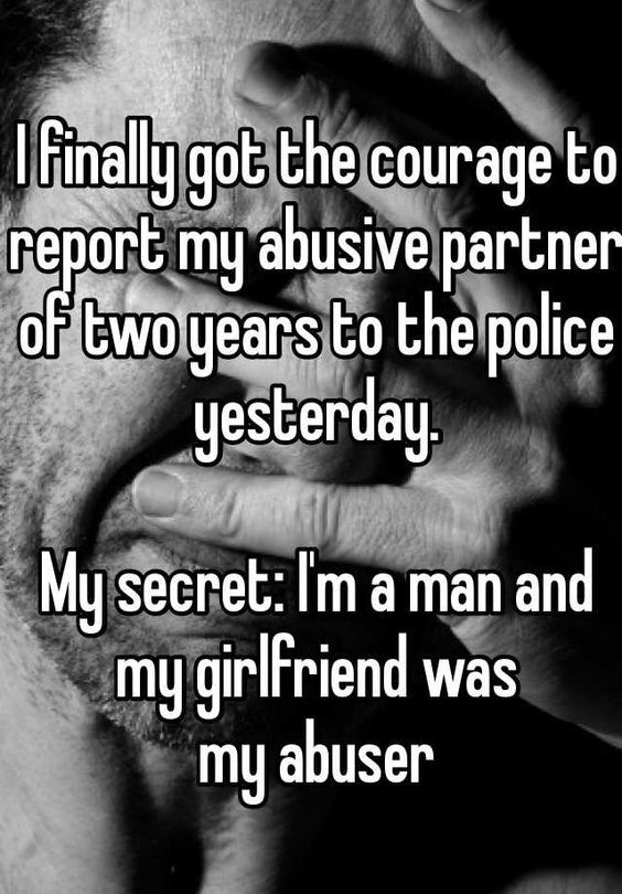 Male victims of domestic violence case studies
