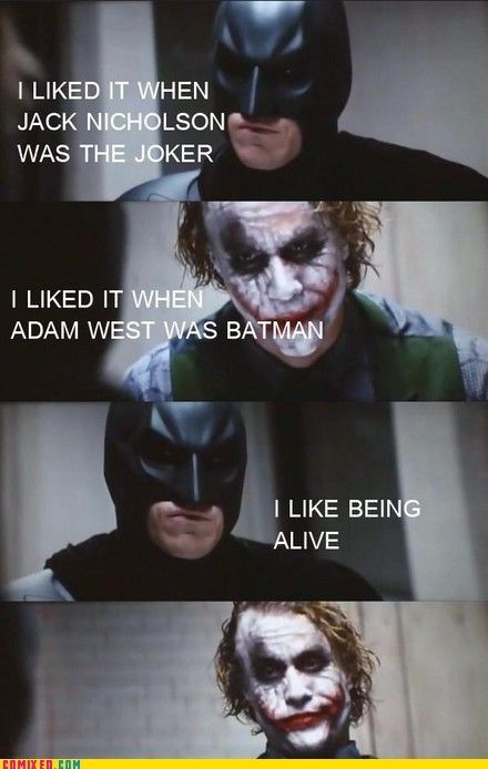 Well played batman
