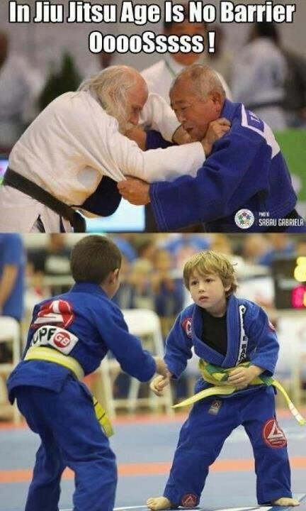 Age is no barrier! Learn Jiu Jitsu at any age to stay fit and healthy!