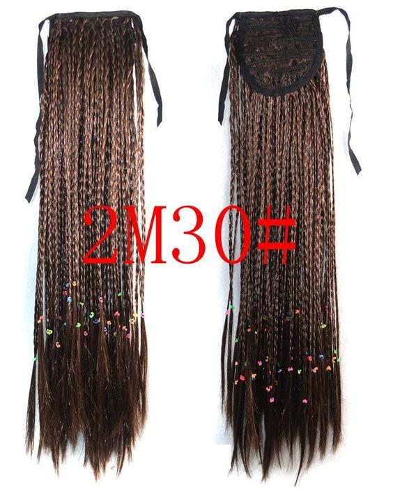 Bohemian Style Long Ponytail Hair