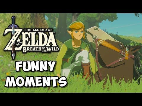 Zelda Breath Of The Wild Funny Moments Ground Horse Chocolate Milk Gamer Youtube Funny Moments Breath Of The Wild Zelda Breath