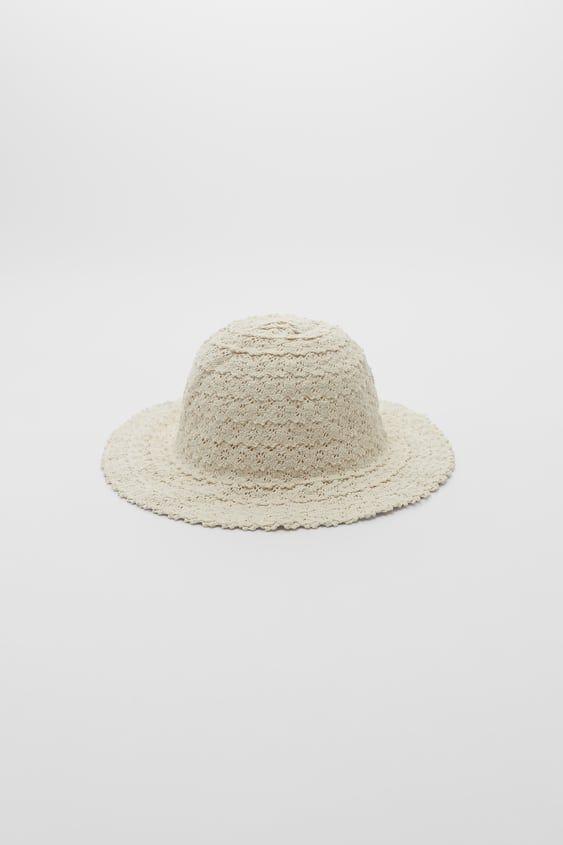 Girls Accessories Online Sale Zara Spain Girls Accessories Crochet Bucket Hat Zara Spain