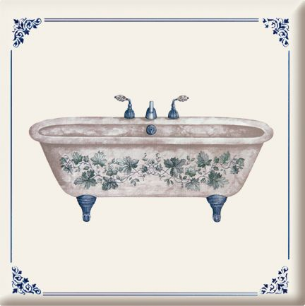 Such pretty tile for the bathroom.  3019 s