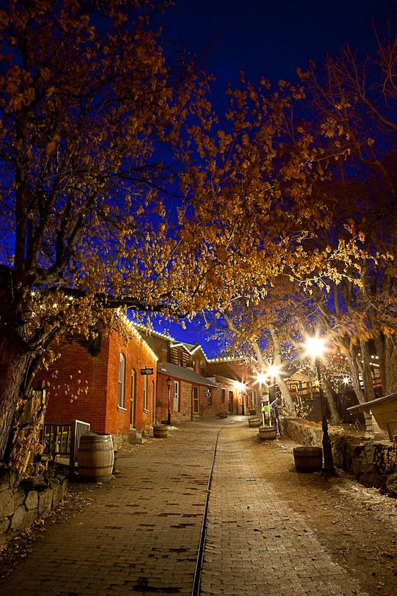 My college graduation dinner/party was here -- Historic Reeder's Alley: a lonesome gem in Helena, MT.