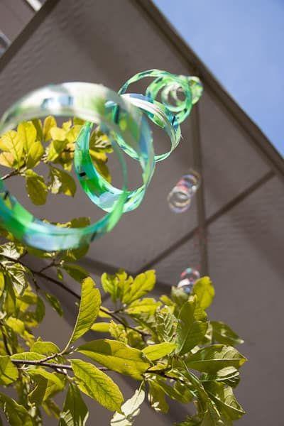 Windspiel Aus Pet Flaschen Basteln Mit Kindern